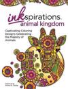 Inkspirations Animal Kingdom Adult Coloring Book