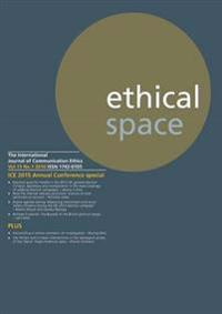 Ethical Space Vol.13 Issue 1