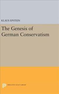 The Genesis of German Conservatism