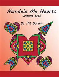 Mandala Me Hearts Coloring Book