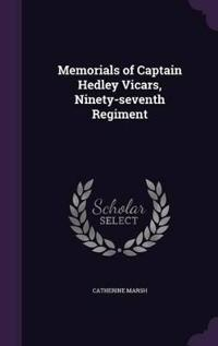 Memorials of Captain Hedley Vicars, Ninety-Seventh Regiment