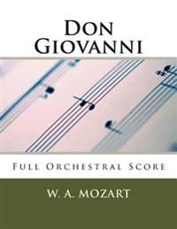 Don Giovanni (Full Orchestral Score): Peters Edition