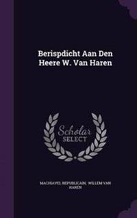 Berispdicht Aan Den Heere W. Van Haren
