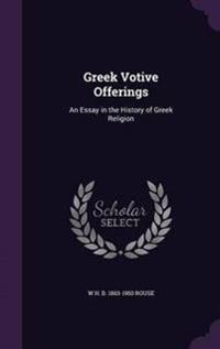 Greek Votive Offerings