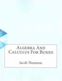 Algebra and Calculus for Busies