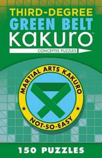 Third-Degree Green Belt Kakuro