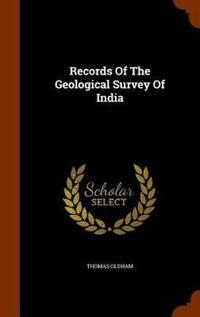 Records of the Geological Survey of India