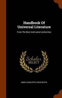Handbook of Universal Literature