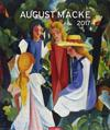 August Macke - Kalender 2017
