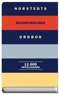 Norstedts skandinaviska ordbok : 12 000 uppslagsord