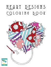 Heart Designs Coloring Book