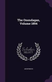 The Onondagan, Volume 1894