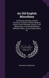 An Old English Miscellany