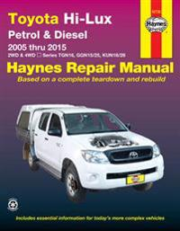 Toyota hilux 4x4 automotive repair manual - 2005-2015
