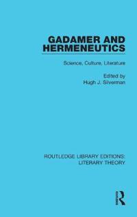 Gadamer and Hermeneutics