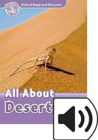 Oxford Read and Discover: Level 4: All About Desert Life Audio Pack