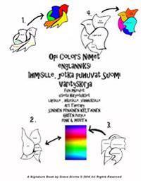 Opi Colors Nimet Englanniksi Ihmisille, Jotka Puhuvat Suomi Varityskirja Fun Muodot Useita Harjoitukset Lapsille, Aikuisille, Vanhuksille Art Therapy
