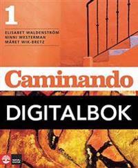 Caminando 1 Lärobok Digital, 3:e upplagan