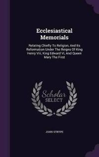 Ecclesiastical Memorials