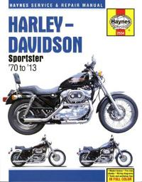 Harley-Davidson Sportster '70 to '13 Repair Manual