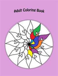 Adult Coloring Book: Therapeutic Creativity