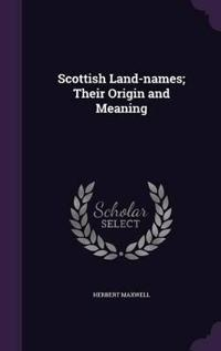 Scottish Land-Names