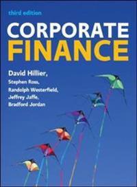Corporate finance: european edition - european edition