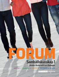 Forum Samhällskunskap 1 Ny upplaga