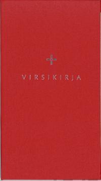 Virsikirja (kirkkovirsikirja KV941SL, 115x190 mm, kovakantinen, punainen)