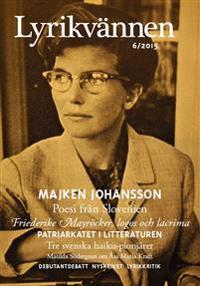 Lyrikvännen 6/2015