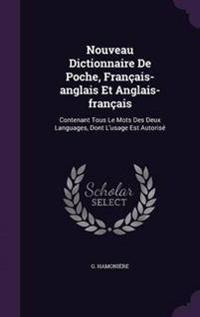 Nouveau Dictionnaire de Poche, Francais-Anglais Et Anglais-Francais
