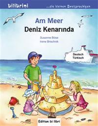 Am Meer. Kinderbuch Deutsch-Türkisch