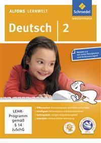 Alfons Lernwelt Lernsoftware Deutsch 2