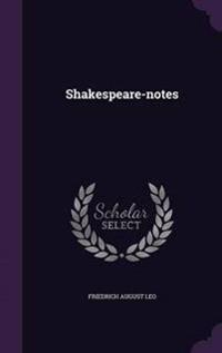 Shakespeare-Notes