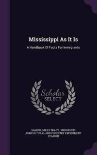 Mississippi as It Is