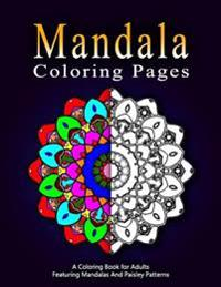 Mandala Coloring Pages - Vol.8: Adult Coloring Pages