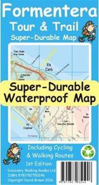 Formentera TourTrail Super-Durable Map