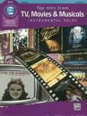 Top Hits from TV, Movies & Musicals Instrumental Solos: Clarinet, Book & CD