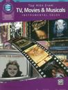 Top Hits from TV, Movies & Musicals Instrumental Solos: Flute, Book & CD