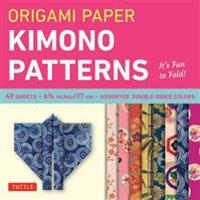 Origami Paper Kimono Patterns