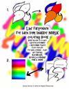 Lær Fargenavn for Barn SOM Snakker Norsk Coloring Book Bruk Tallene Til Å Lære Læreren Bestemmer + Morsomme Figurer Flere øvelser for Barn, Voksne, El
