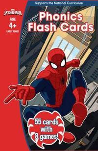Spider-Man: Phonics Flash Cards