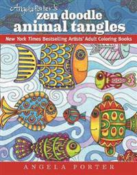 Angela Porter's Zen Doodle Animal Tangles