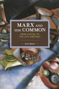 Marx and the Common: From Capital to the Late Writings