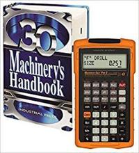Machinery's Handbook 30th. Edition, Toolbox, & Calc Pro 2 Combo