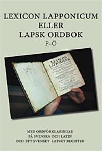 Lexicon Lapponicum (A-O)