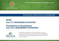 ACCA Approved - F2 Management Accounting (FIA: FMA)