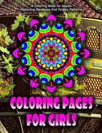 Coloring Pages for Girls - Vol.10: Coloring Pages for Girls