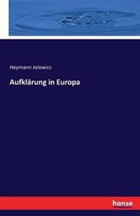 Aufklarung in Europa