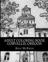 Adult Coloring Book: Corvallis, Oregon